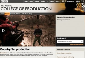 BBC College of Production